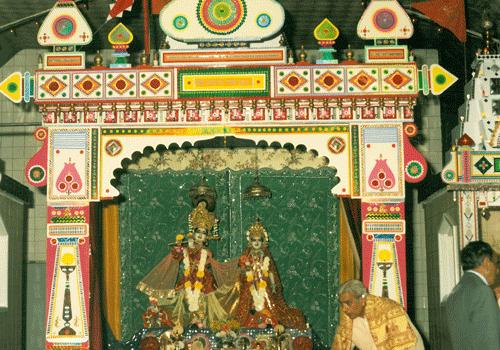 Installation of Lord Krishna's Shrine