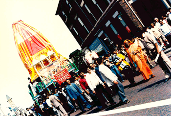 Shiv-Shakti Murti Pratishtha procession