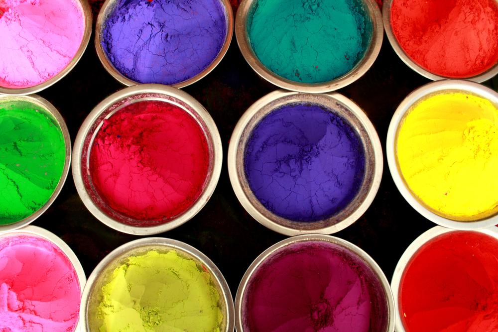 Краски для холи в домашних условиях