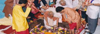 Foundation stone laying ceremony – 24th & 25th Aug 1997